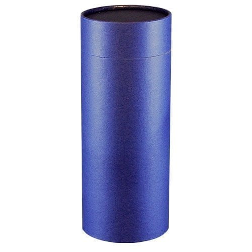 plain blue scatter tube