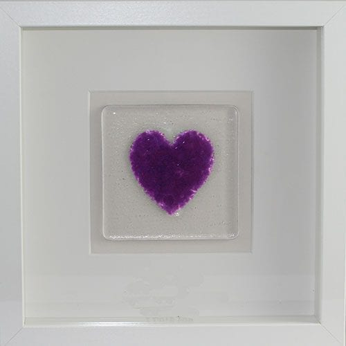 Purple-Frame-heart ashes