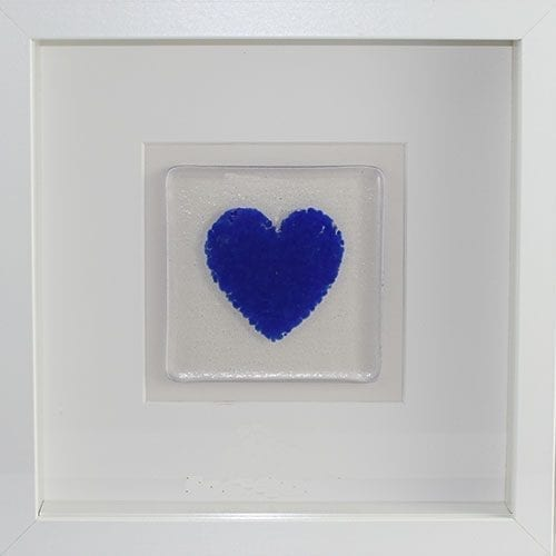 Blue Ashes heart frame