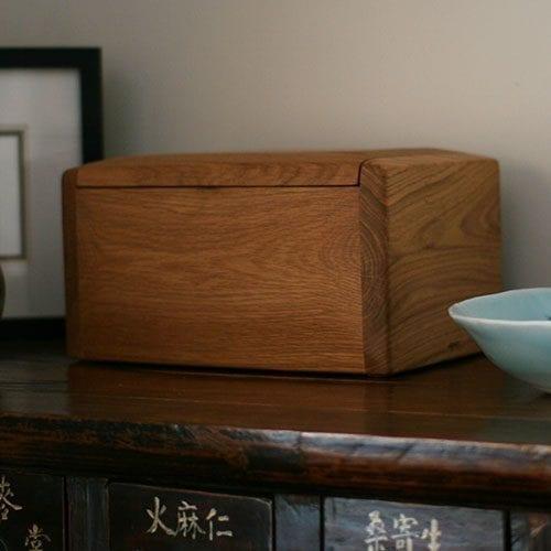 Handmade Teign Wooden Urn