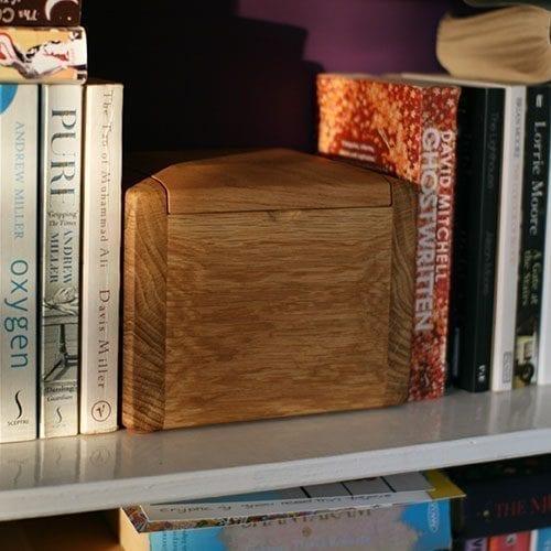 Keepsake Teign Wooden Urn