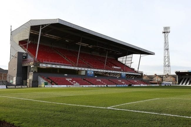 Grimsby Town ashes scattering policy