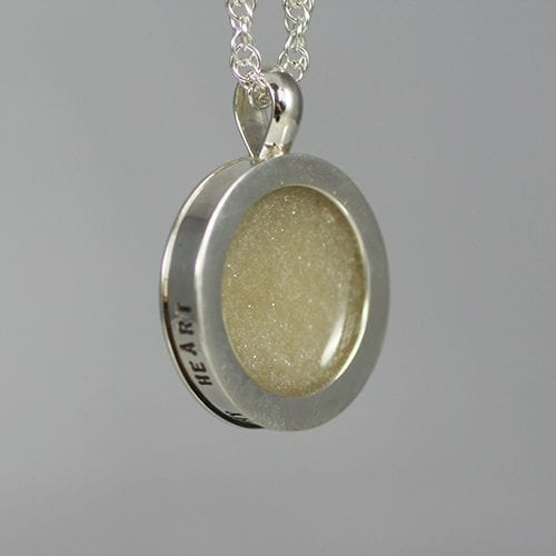 Starry night Ashes necklace - pearl