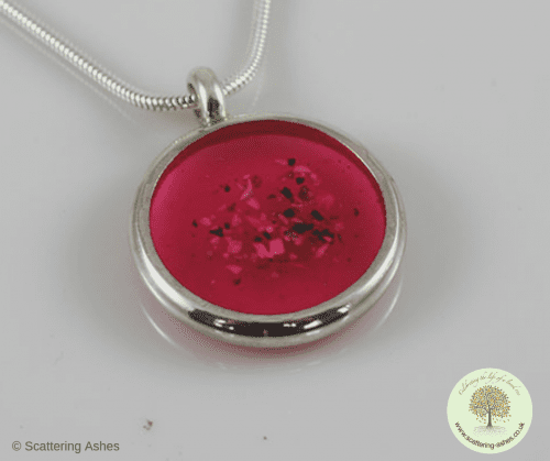 ashes into glass missing you pendant