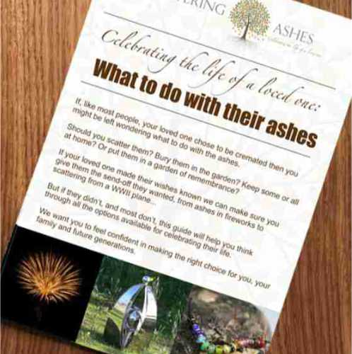 What to do with ashes?