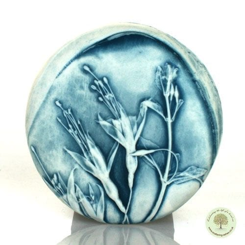 Ceramic Comfort Pebble - Passion Flower-