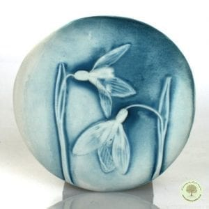 Ceramic Comfort Pebble - Snow drop