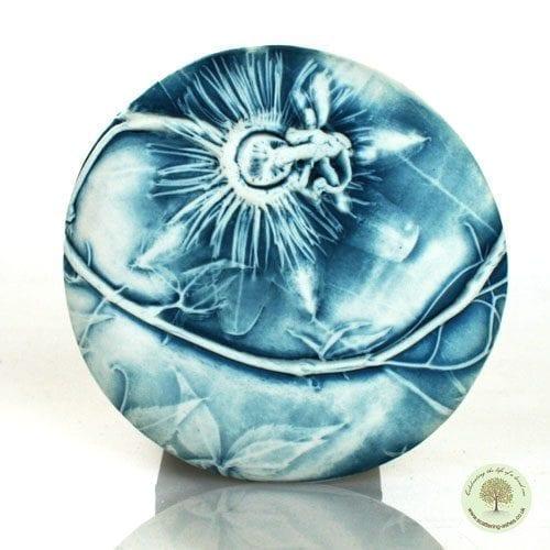 Ceramic Comfort Pebble - Passion Flower-