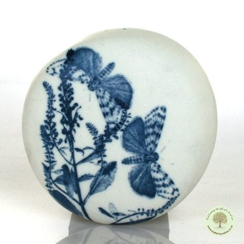 Ceramic Comfort Pebble - Butterfly