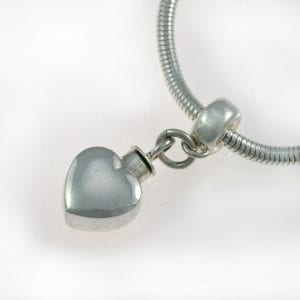 Pandora Heart Ashes Charm