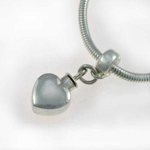 Pandora Heart Ashes Charm