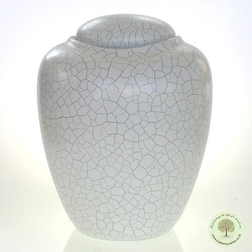 Raku Style Water Urn