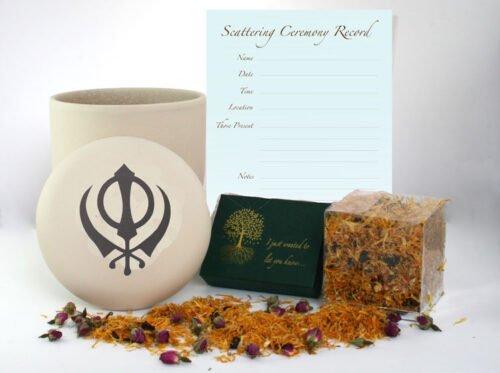 Sikh ceremony ashes