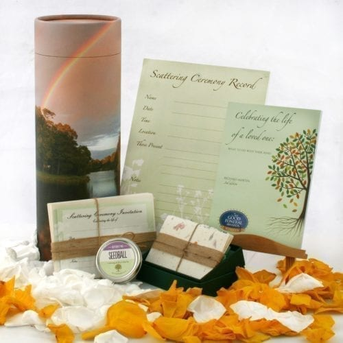 Ash Scattering Ceremony Set - Deluxe