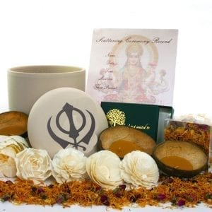 deluxe sikh ceremony set