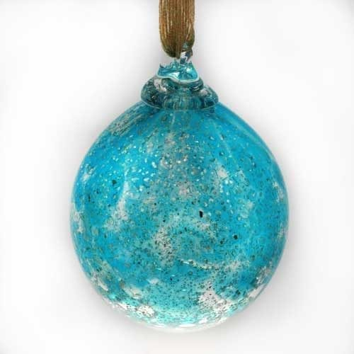 Christmas Bauble with Ashes - Peace on Earth
