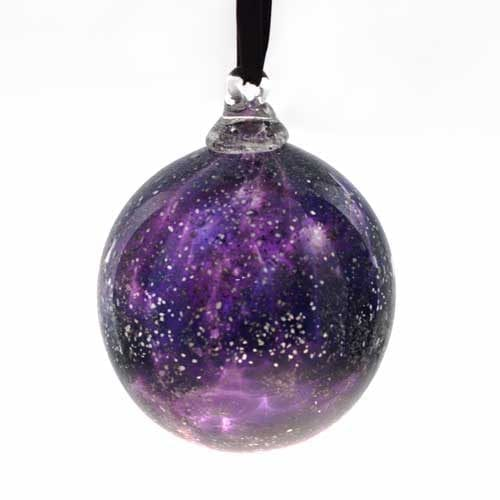 Christmas Bauble with Ashes - Plum Pudding