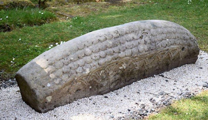 hogback viking grave marker