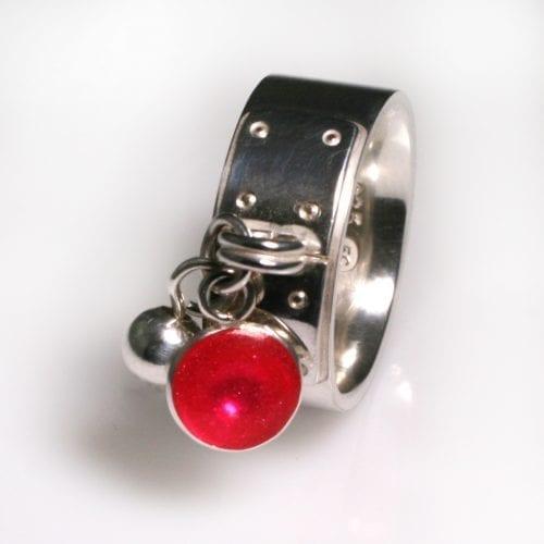 Tiffany Style Birthstone Ring