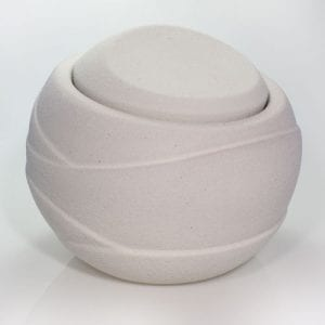 Biodegradable desert rose water urn