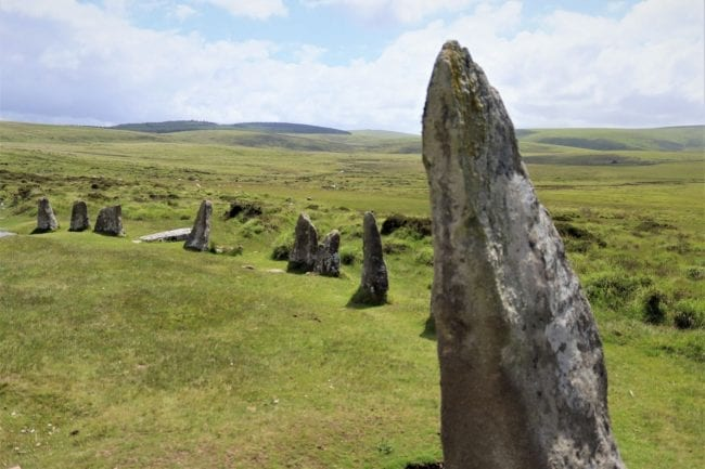 scorhill stone circle scattering ashes
