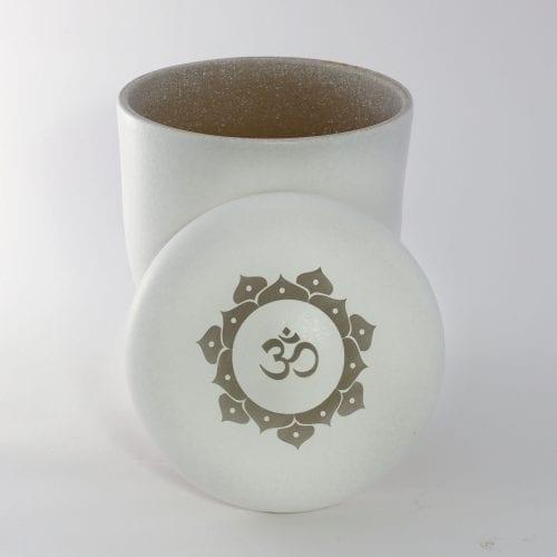 Lotus Om Ashes Water Urn