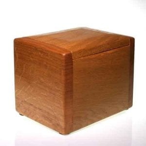 Keepsake Teign Wood Ashes Urn