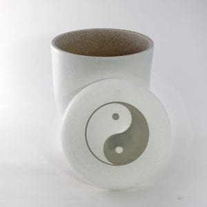 Yin Yang Ashes Water Urn 2