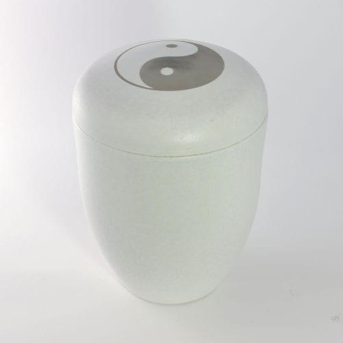 Yin Yang Ashes Water Urn