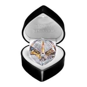 Swarovski Elements Crystal Keepsake Heart