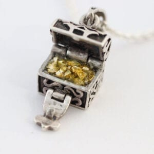 Ashes Jewellery - Treasure Chest Charm