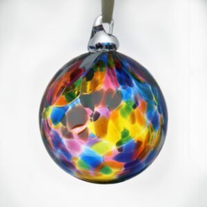 Christmas Bauble Ashes Glass