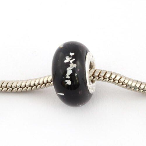 Pandora-Black-silver-sparkle-ashes-jewellery