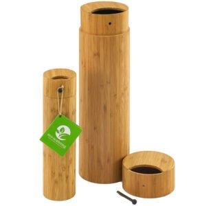 wooden scatter tube