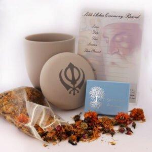 Sikh Ashes Ceremony Set